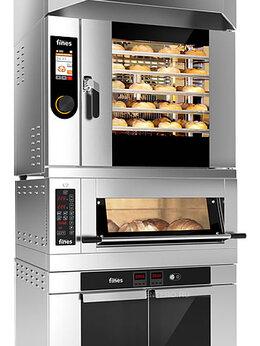 Жарочные и пекарские шкафы - Печь конвекционная комбинированная Fines…, 0