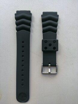 Ремешки для часов - Ремешок каучуковый seiko prospex-scuba 18 -20 -22м, 0