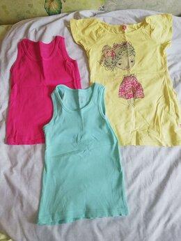 Футболки и рубашки - вещи лето 128-134 на девочку футболки, платья…, 0