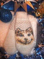 Перчатки и варежки - Варежки пуховые  , 0
