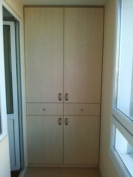 Стеллажи и этажерки - Шкафы на балкон, 0