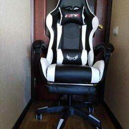 Компьютерные кресла - Компьтерное кресло геймерское. Регулировка спинки, 0