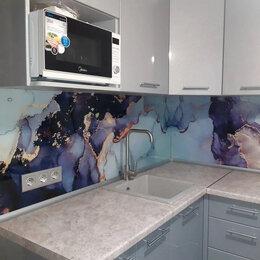 Дизайн, изготовление и реставрация товаров - кухонный фартук из закаленного стекла, 0