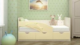 Кроватки - Кровать Дельфин 3D фасад МДФ, 0