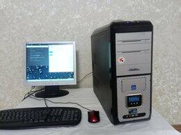 Настольные компьютеры - Системный блок с ssd, монитор, переферия, 0