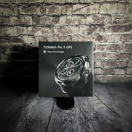 Умные часы и браслеты - Умные часы TicWatch Pro 3 GPS, 0