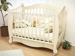 Колыбели и люльки - Детская кровать с ящиком 60х120 см слоновая…, 0