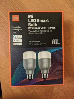 Системы Умный дом - Умная лампочка Xiaomi Mi LED Smart Bulb 2шт Алиса, 0