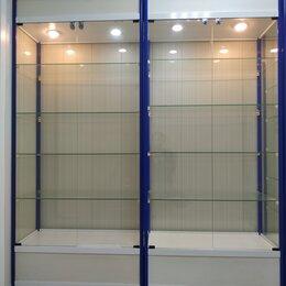 Витрины - витрина стеклянная с подсветкой, 0