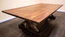 Столы и столики - Стол дубовый Рагнар в переговорную, 0