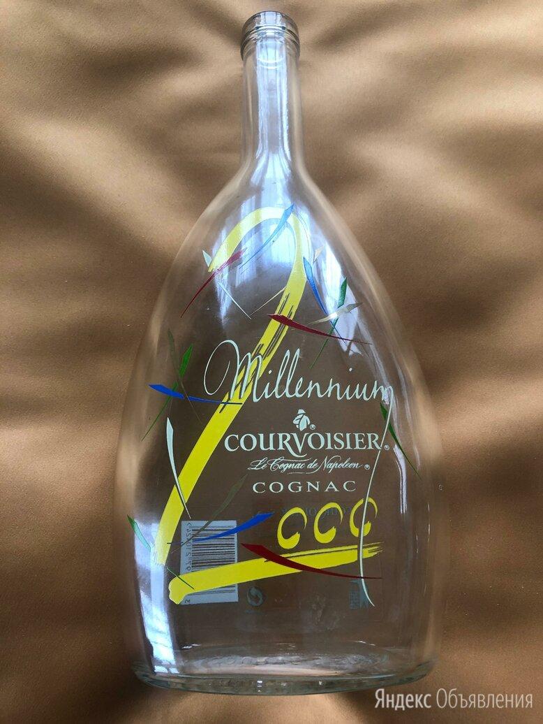 Бутылка. Коньяк. Мillennium Сourvoisier Сognac. 2000 по цене 900₽ - Этикетки, бутылки и пробки, фото 0