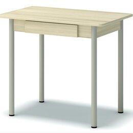 Столы и столики - Стол обеденный закругленный с ящиком Гайвамебель, 0