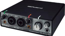 Оборудование для звукозаписывающих студий - Внешняя звуковая карта Roland Rubix22, 0