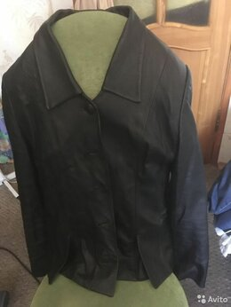 Пиджаки - Пиджак из натуральной кожи 44-46, 0