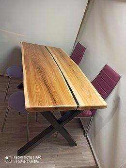 Столы и столики - Стол, карагач, эпоксидная смола. , 0