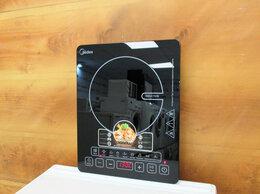 Плиты и варочные панели - Электрическая плитка индукционная Midea новая, 0