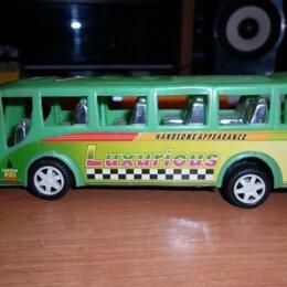 Машинки и техника - Пластиковый автобус, 0