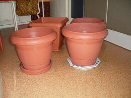 Горшки, подставки для цветов - Цветочные горшки Plastona s.a.Греция.Одним лотом, 0