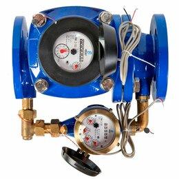 Счётчики воды - Счетчик воды двойной водомер, двойной водосчетчик., 0