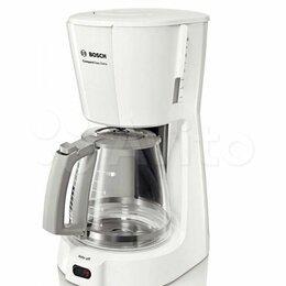 Кофеварки и кофемашины - Кофеварка капельная Bosch TKA 3A031 белый, 0