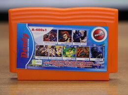 Игровые приставки - Картридж Dendy A-400in1 (Mortal kombat, Robocop), 0