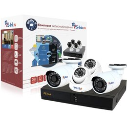 Видеокамеры - комплект системы видеонаблюдения, 0