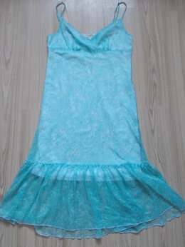 Платья - Платье голубое Finn Flare. Б/у, состояние хорошее., 0