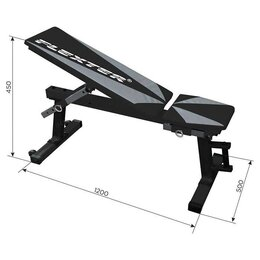 Другие тренажеры для силовых тренировок - Скамья силовая Оптима, 0