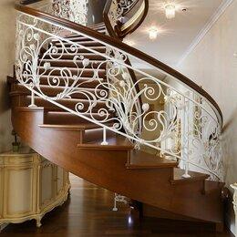 Лестницы и элементы лестниц - Кованные перила, 0