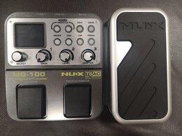 Оборудование для звукозаписывающих студий - Гитарный процессор NUX-MG100, 0