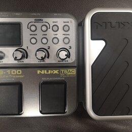 Процессоры и педали эффектов - Гитарный процессор NUX-MG100, 0