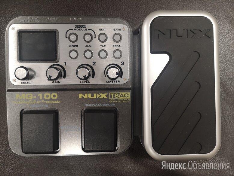 Гитарный процессор NUX-MG100 по цене 8900₽ - Процессоры и педали эффектов, фото 0