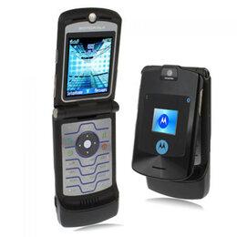 Мобильные телефоны - Motorola razr V 3i black,silver,gold, 0