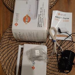 3G,4G, LTE и ADSL модемы - Wi-Fi роутер UPVEL UR-344AN4G+, 0