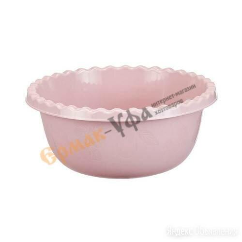 Миска круглая 5л  (чайная роза) по цене 82₽ - Сервизы и наборы, фото 0