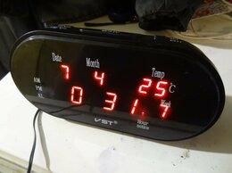 Часы настольные и каминные - Электронные часы VST 801WX - настольно-настенные, 0