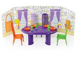 Игровые наборы и фигурки - Столовая комната с интерьером С-1483, 0