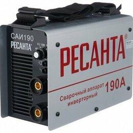 Сварочные аппараты - Аппарат сварочный инверторный 190А САИ190 Ресанта, 0