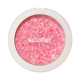 Для лица - Компактные румяна The Saem Eco Soul Carnival Blush Rose, 0