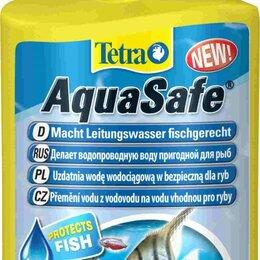 Инвентарь для обслуживания аквариумов - Tetra AquaSafe кондиционер для подготовки воды аквариума 500 мл, 0