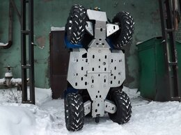 Аксессуары и дополнительное оборудование  - Защита для квадроцикла CF Moto X4 комплект, 0