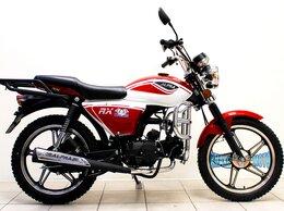 Мототехника и электровелосипеды - Мопед Альфа Alpha RX 110 см3, красный с белым, 0