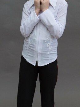 Рубашки и блузы - Блузка белая для девочки, 0