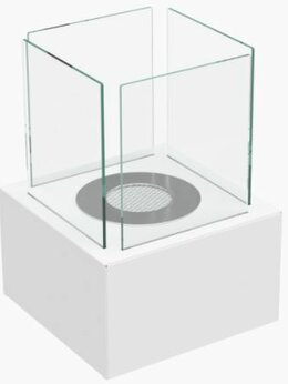 Камины и печи - Настольный биокамин Kratki Tango 3 Белый, 0