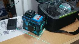 Измерительные инструменты и приборы - Лазерный нивелир 3х360 гарантия, 0
