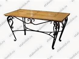 Столы и столики - Стол ручная ковка с просечкой 960*630*750, 0