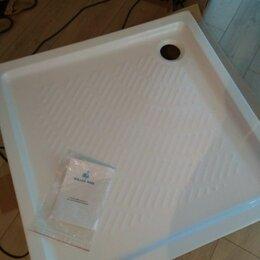 Души и душевые кабины - Душевой поддон Koller pool round 90*90 квадратный, 0