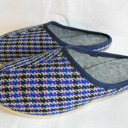 Домашняя обувь - Тапочки р.35 (новые), 0
