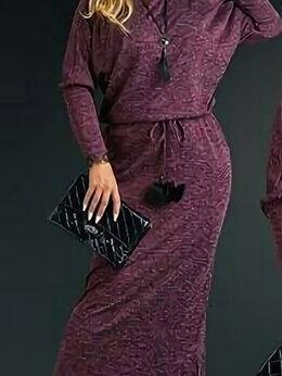 Платья - Длинное  платье со вставкой на спинке. Размер…, 0