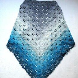 Шарфы и платки - Вязаная шаль женская, 0